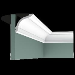 Listwa przysufitowa gładka CX127 (wym.200x9.4x9.4cm)