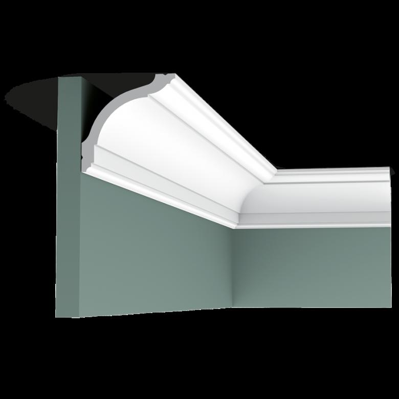 Listwa przysufitowa gładka CX127* (wym.200x9.4x9.4cm)