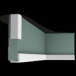 Listwa przysufitowa (wielofunkcyjna narożnikowa) gładka CX134* (wym.200x3x3cm)