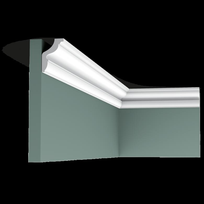 Listwa przysufitowa gładka CX148* (wym.200x2.9x4.3cm)