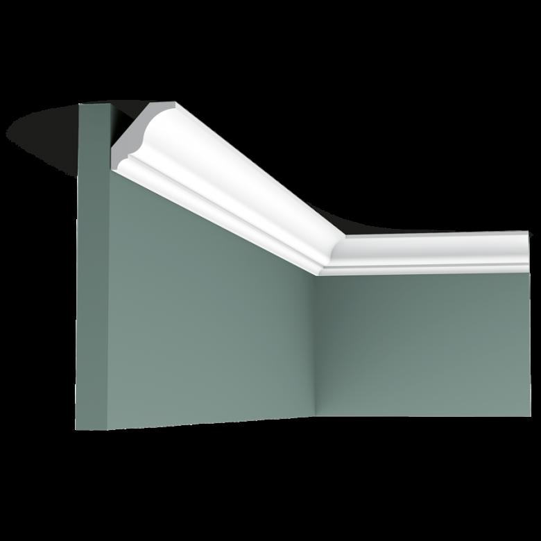 Listwa przysufitowa gładka ODCX154* (wym.200x3x3cm)