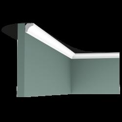 Listwa przysufitowa gładka C250F (wym.200x1,6x1,6cm)