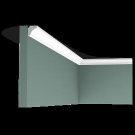 Listwa przysufitowa gięta (flex) gładka C250F (wym.200x1,6x1,6cm)