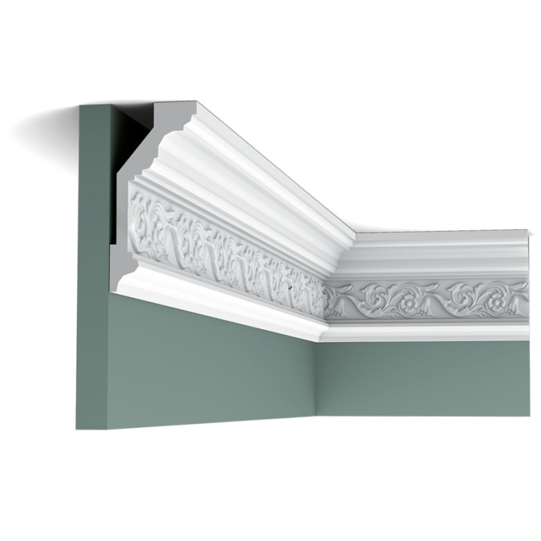 Listwa przysufitowa zdobiona C303F(wym.200x6,5x14,4cm)