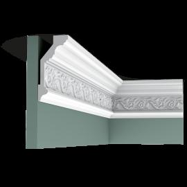 Listwa przysufitowa gięta (flex) zdobiona C303F (wym.200x6,5x14,4cm)