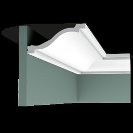 Listwa przysufitowa gięta (flex) gładka C331F (wym.200x13,5x6,4cm)