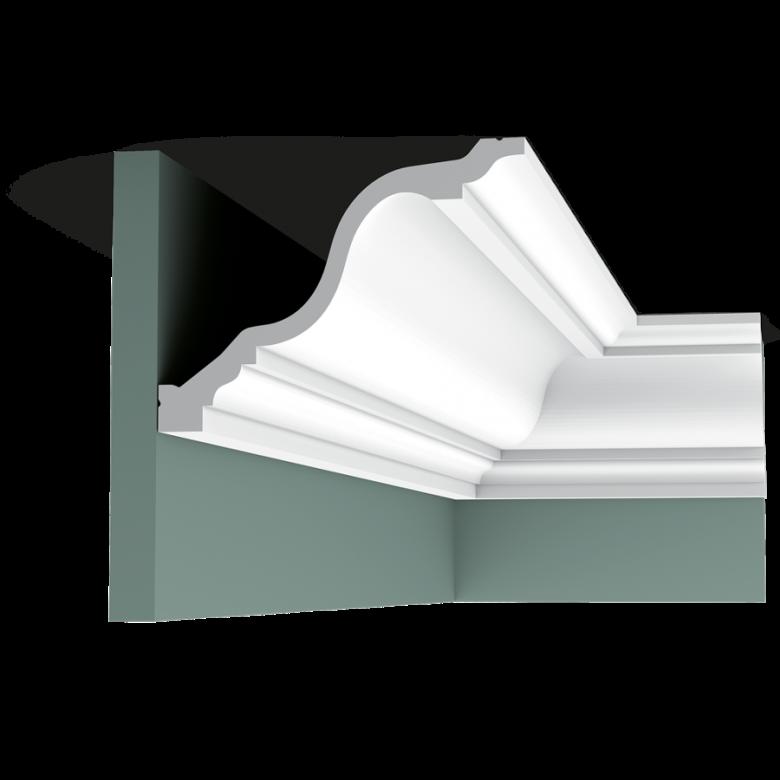 Listwa przysufitowa gładka C334F (wym.200x19,6x15cm)