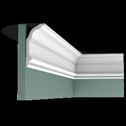 Listwa przysufitowa gięta (flex) gładka C339F (wym.200x6,4x14,1cm)