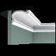 Listwa przysufitowa gięta (flex) gładka C341F (wym.200x12,2x8,8cm)