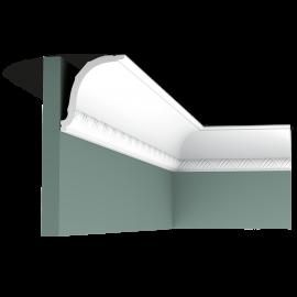 Listwa przysufitowa gięta (flex) zdobiona C402F (wym.200x9,4x10,7cm)