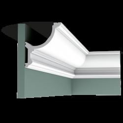 Listwa przysufitowa gięta (flex) gładka C901F (wym.200x12,4x14,8cm)