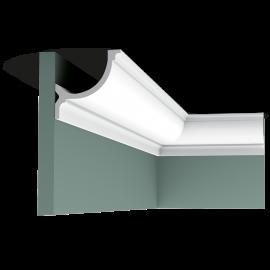 Listwa przysufitowa gięta (flex) gładka C902F (wym.200x10,3x10,3cm)