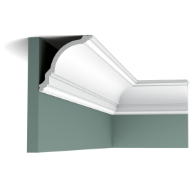 Listwa przysufitowa gięta (flex) gładka CX106F (wym.200x11,7x11,8cm)