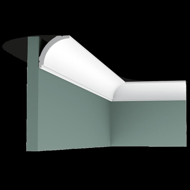 Listwa przysufitowa gładka CX109F (wym.200x4,4x4,4cm)