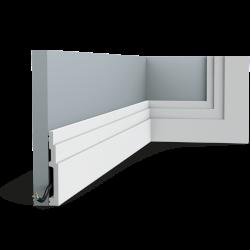 Listwa przypodłogowa gięta (flex) SX180F (wym.200x1.6x12cm)
