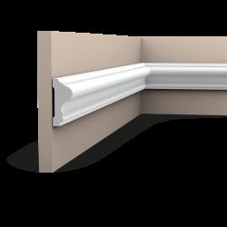 Listwa ścienna gładka P8020 (wym.200x2.6x6cm)