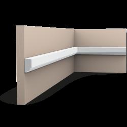 Listwa ścienna gładka P9050 (wym.200x1.3x2.5cm)