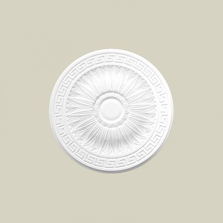 Ozdobna rozeta dekoracyjna jest doskonałym elementem dopełniającym wystrój wnętrza. Ten model rozety Creativa R-23 Creativa by C