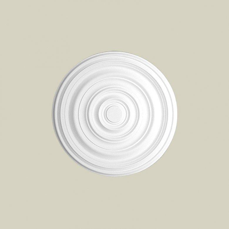 Ozdobna rozeta dekoracyjna jest doskonałym elementem dopełniającym wystrój wnętrza. Ten model rozety Creativa R-13 Creativa by C