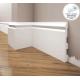 Listwa przypodłogowa poliuretanowa biała, Creativa / model LPC-24 / dł. 244 cm Creativa by Cezar - 1