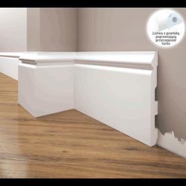 Listwa przypodłogowa poliuretanowa biała, Creativa / model LPC-24 / dł. 244 cm