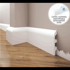 Listwa przypodłogowa poliuretanowa biała, Creativa / model LPC-19 / dł. 244 cm