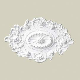 Ozdobna rozeta dekoracyjna jest doskonałym elementem dopełniającym wystrój wnętrza. Ten model rozety Creativa R-03