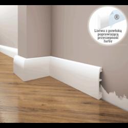 Listwa przypodłogowa poliuretanowa biała, Creativa / model LPC-06 / dł. 244 cm Creativa by Cezar - 1