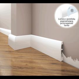 Listwa przypodłogowa poliuretanowa biała, Creativa / model LPC-06 / dł. 244 cm