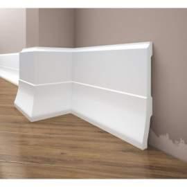 Listwa przypodłogowa poliuretanowa biała, Creativa / model LPC-35 / dł. 244 cm