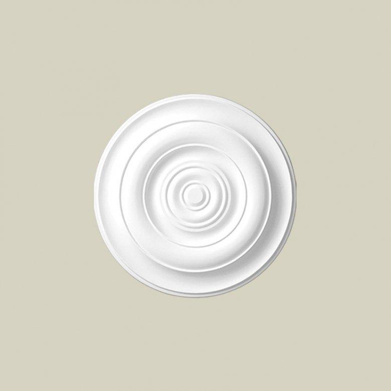 Ozdobna rozeta dekoracyjna jest doskonałym elementem dopełniającym wystrój wnętrza. Ten model rozety Creativa R-10 Creativa by C