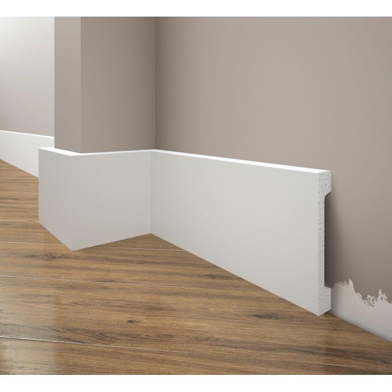 Listwa przypodłogowa poliuretanowa biała, Creativa / model, LPC-31, / dł. 244 cm