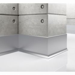Listwa przypodłogowa aluminiowa, cokół Creativa LP100 250cm Creativa by Cezar - 1