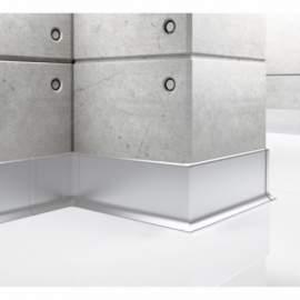 Listwa przypodłogowa aluminiowa, Creativa / cokół aluminiowy LP59 / dł. 250 cm