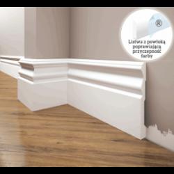 Listwa przypodłogowa poliuretanowa biała, Creativa / model LPC-09 / dł. 244 cm