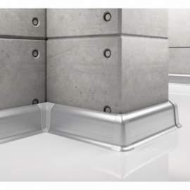 Listwa przypodłogowa aluminiowa, Creativa / cokół aluminiowy LP55 / dł. 250 cm