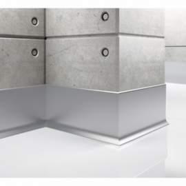 Listwa przypodłogowa aluminiowa, Creativa / cokół aluminiowy LP80 / dł. 250 cm
