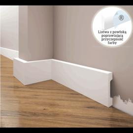 Listwa przypodłogowa poliuretanowa biała, Creativa / model LPC-23 / dł. 244 cm