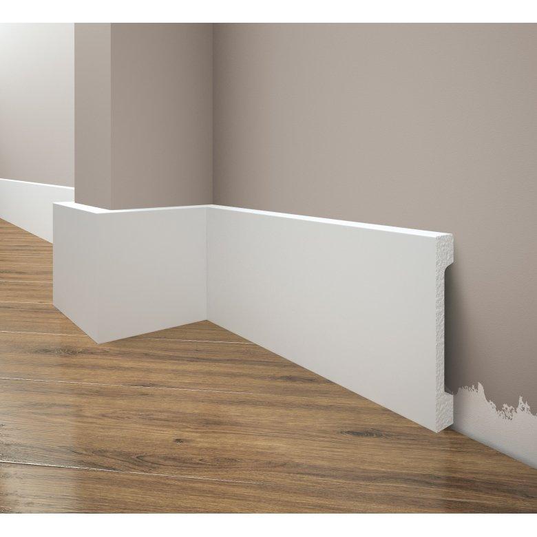 Listwa przypodłogowa poliuretanowa biała, Creativa / model LPC-29 / dł. 244 cm
