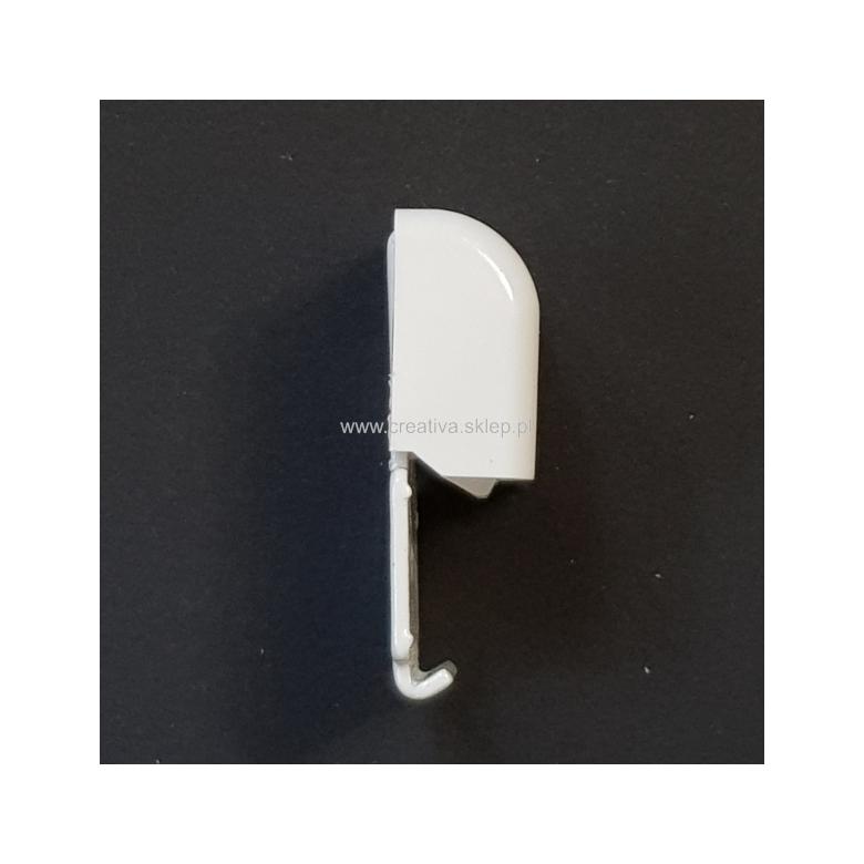 Uchwyt sufitowy do szyn aluminiowych pojedynczy z zaślepką