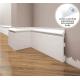 Listwa przypodłogowa poliuretanowa biała, Creativa / model LPC-22 / dł. 244 cm Creativa by Cezar - 1