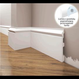 Listwa przypodłogowa poliuretanowa biała, Creativa / model LPC-22 / dł. 244 cm