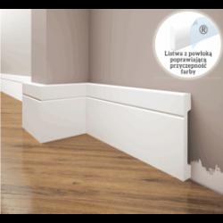 Listwa przypodłogowa poliuretanowa biała, Creativa / model LPC-20 / dł. 244 cm