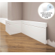 Listwa przypodłogowa poliuretanowa biała, Creativa / model LPC-20 / dł. 244 cm Creativa by Cezar - 1