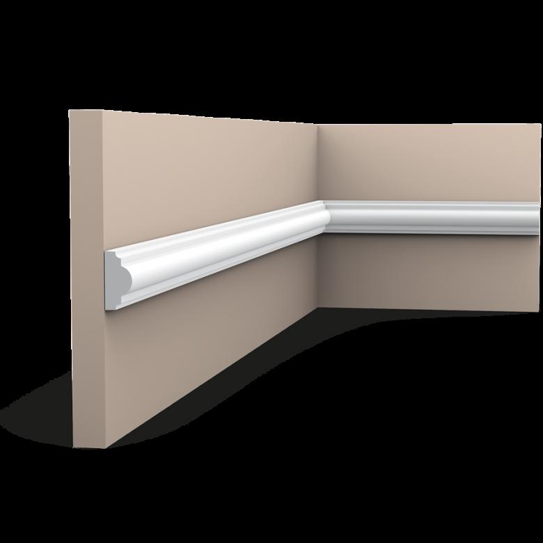 Listwa ścienna gładka PX103* (wym.200x1.2x2.5cm)