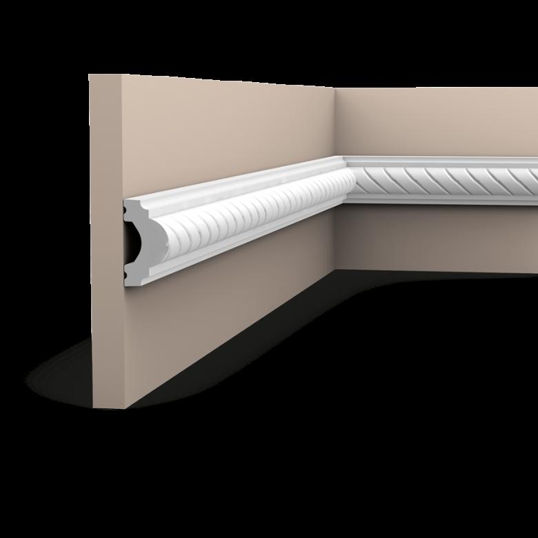 Listwa ścienna zdobiona PX131* (wym.200x1.9x4cm)
