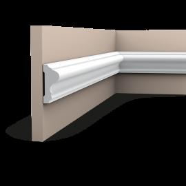 Listwa ścienna gładka gięta (flex) P8020F (wym.200x2.6x6cm)