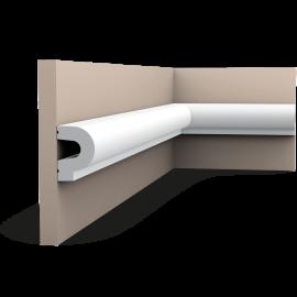 Listwa ścienna gładka gięta (flex) P8060F (wym. 200x3.5x5cm)