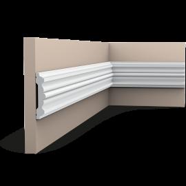Listwa ścienna gładka gięta (flex) P9020F (wym.200x2.1x9.6cm)