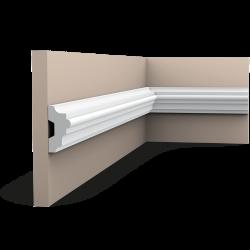 Listwa ścienna gładka gięta (flex) P9040F (wym. 200x2.5x5cm)